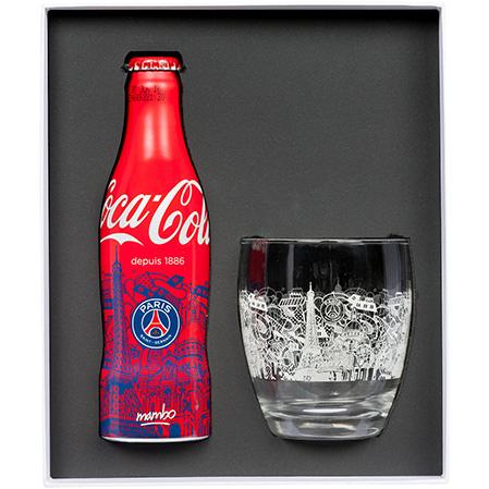 COFFRET PSG X COCA-COLA - MAMBO bouteille