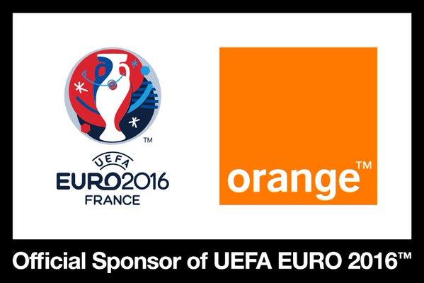 Euro 2016 Orange sponsor