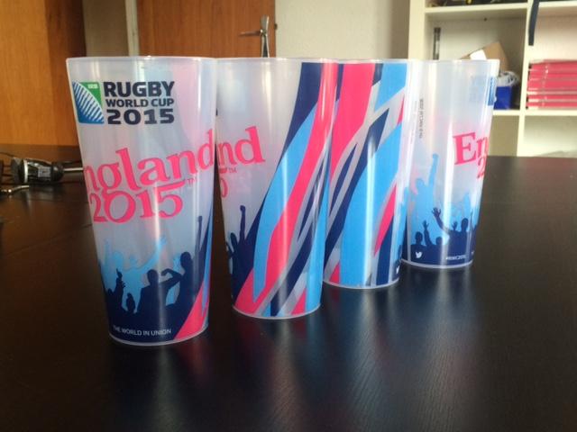 Gobelet Ecocup Coupe du monde de rugby 2015