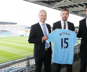 Betsafe nouveau partenaire de Manchester City