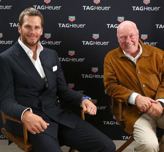 Tom Brady Tag Heuer sponsor