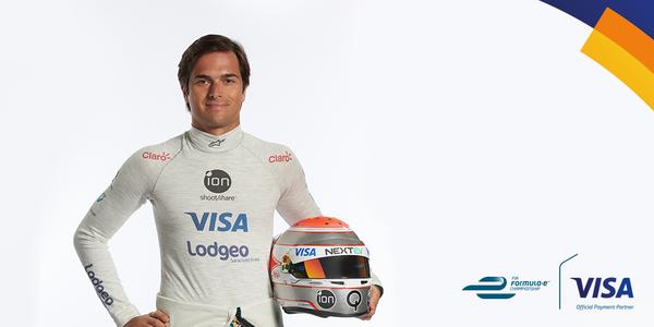 VISA sponsor nelson piquet Jr formula E