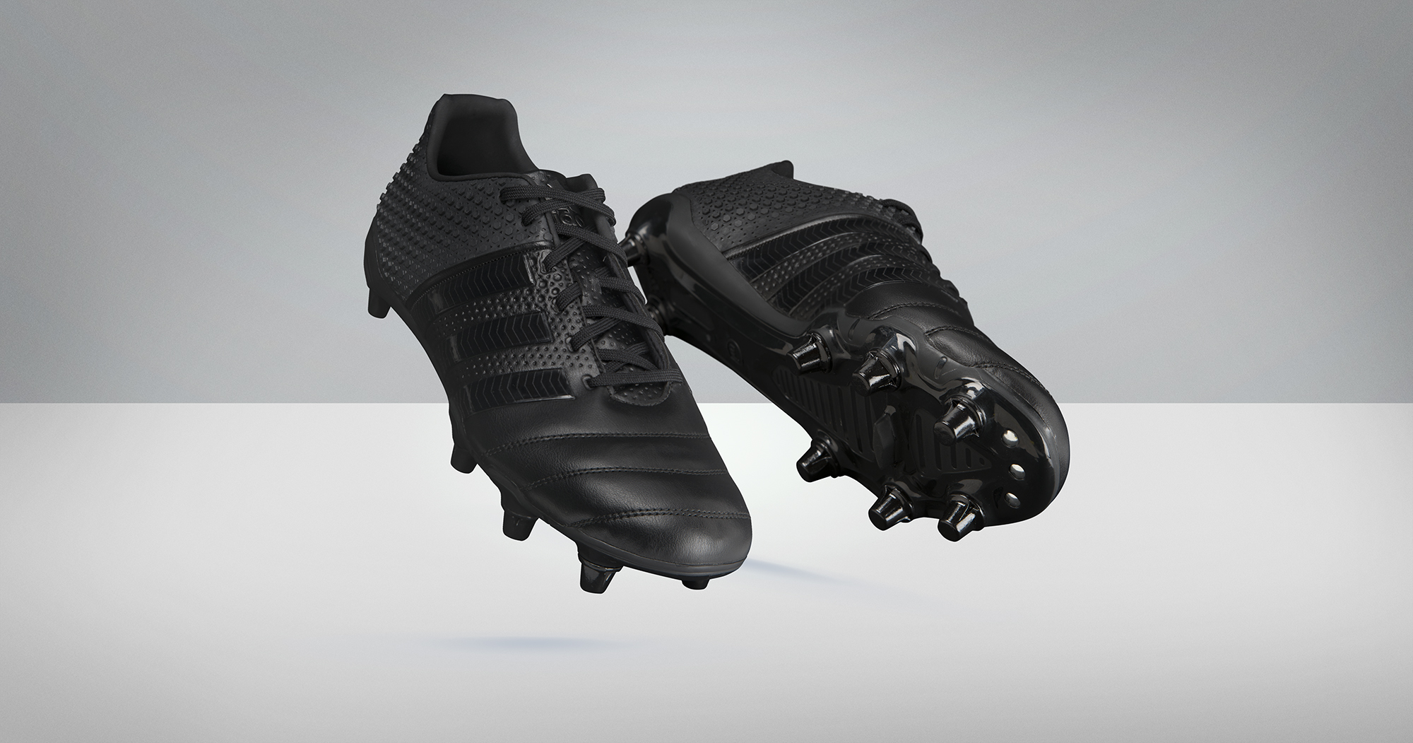 adidas rugby chaussure all black