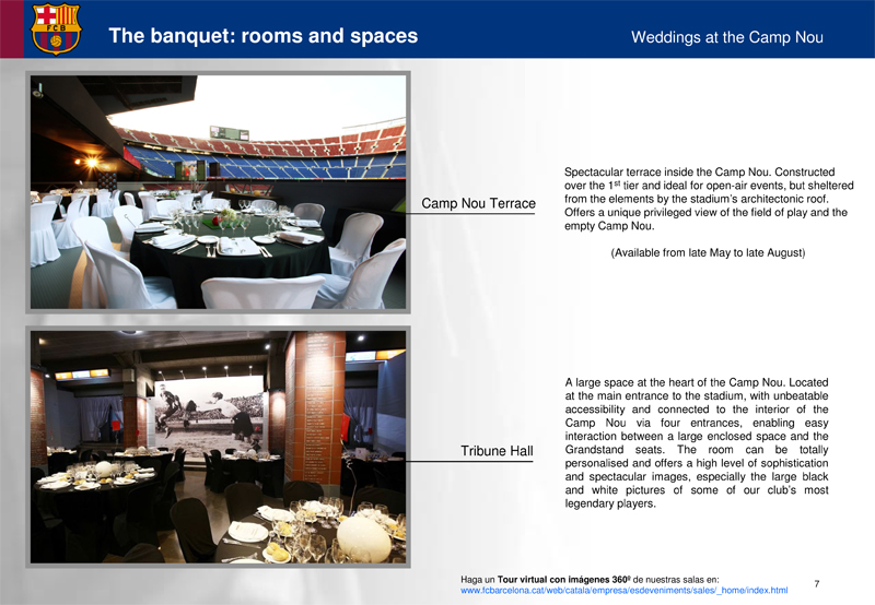 Microsoft PowerPoint - Weddings at the Camp Nou. Eng