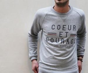 Shopping : Sweat et T-Shirt «Coeur et Courage» – FAGUO
