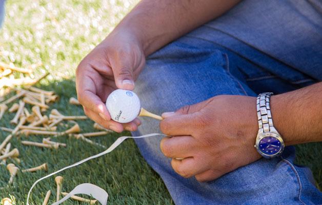 golf ball AT&T jordan spieth buzz