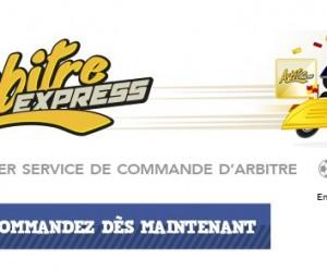 La Poste lance Arbitre-Express.com, le premier service de commande en ligne d'arbitre