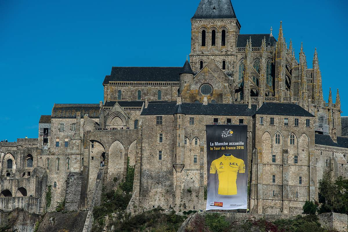 mont saint michel tour de france 2016