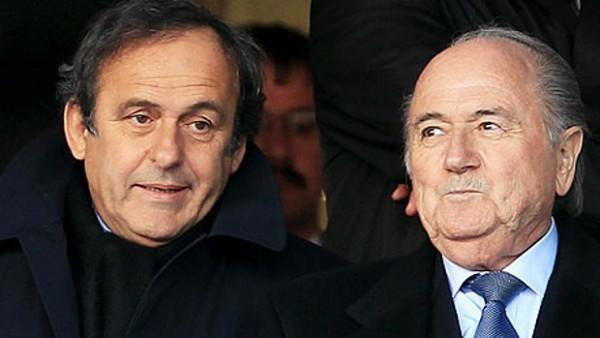 platini Blatter