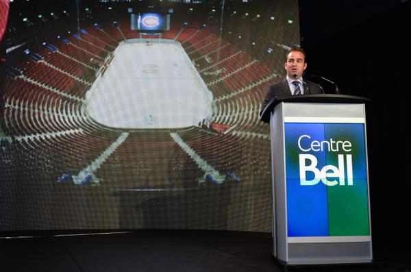 travaux centre bell 100M$ geoff molson canadiens montréal