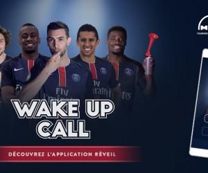 Les joueurs du PSG et les bus MAN réveillent les Fans avec l'application-réveil «Wake Up Call»
