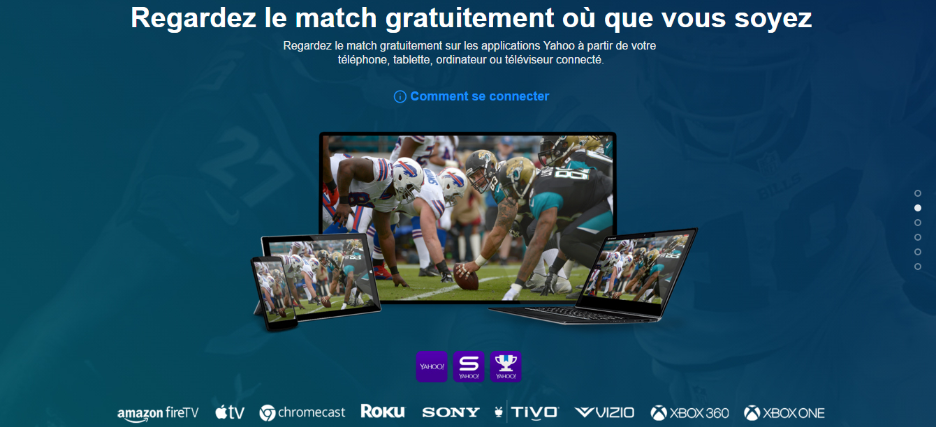 yahoo NFL international series live streaming