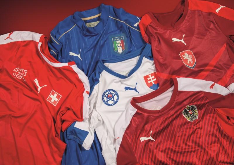 maillots PUMA EURO 2016