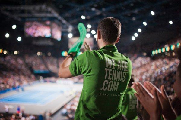 BNP Paribas we are tennis fan academy accorhotels arena bercy