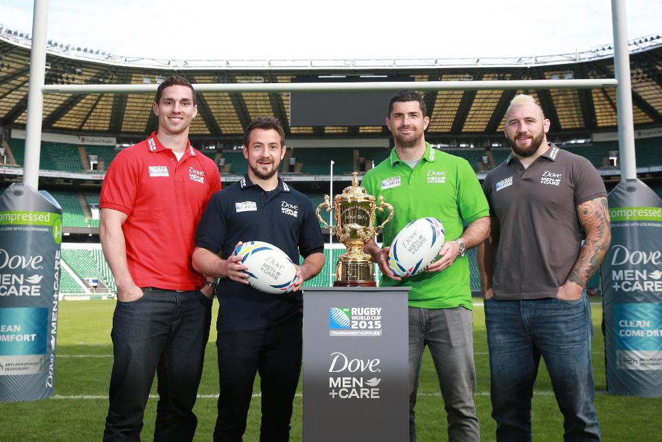 Dove men care Rugby World Cup 2015