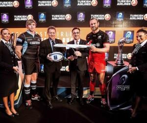 Rugby – Turkish Airlines Partenaire Officiel de la Champions Cup et Challenge Cup