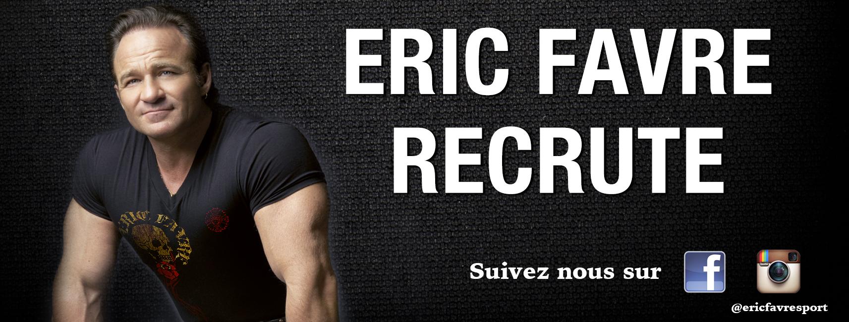 the best attitude daed8 cbb9e Eric Favre offre emploi