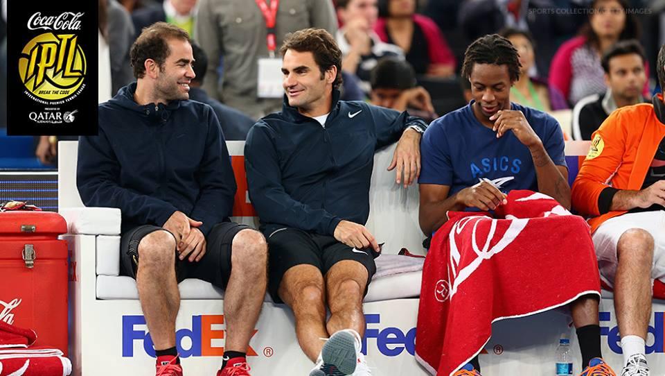 IPTL Federer sampras monfils