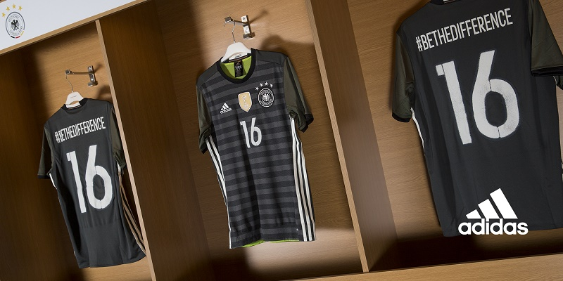Maillots away Allemagne (adidas) - EURO 2016