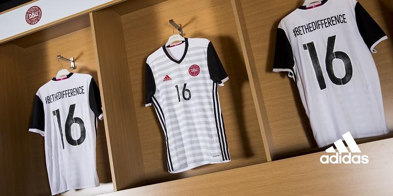 Maillots away Danemark (adidas) - EURO 2016