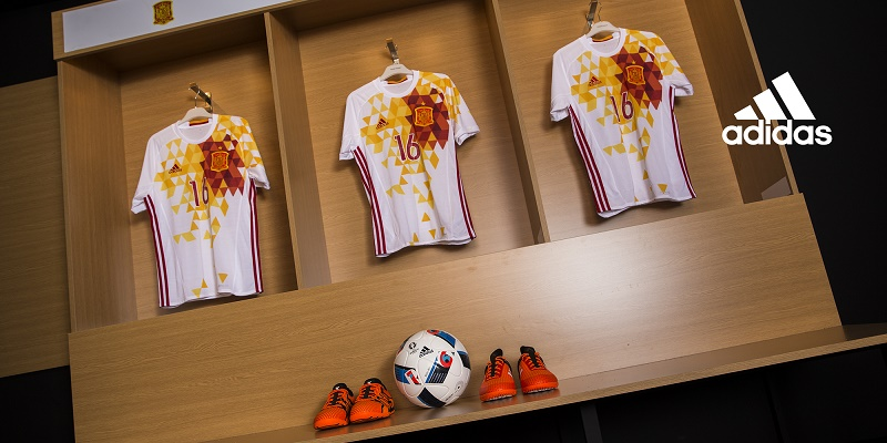 Maillots away Espagne (adidas) - EURO 2016