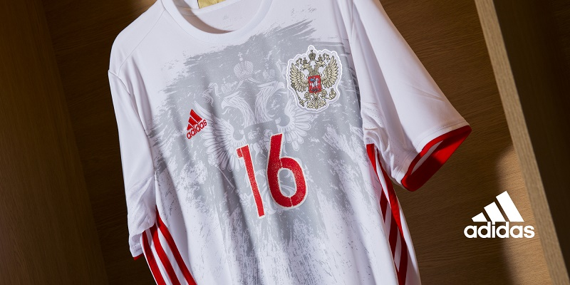 Maillots away Russie (adidas) - EURO 2016