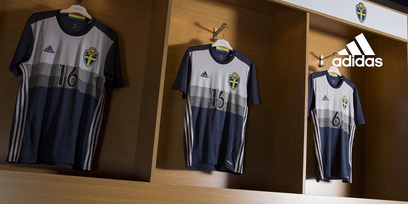 Maillots away Suède (adidas) - EURO 2016