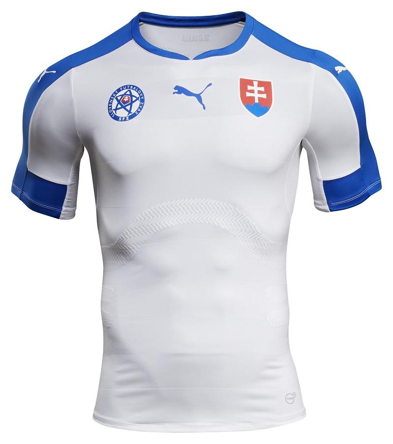 Nouveau maillot domicile Slovaquie - EURO 2016 PUMA