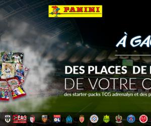 Résultat CONCOURS – 4×2 places pour le match de Ligue 1 de votre choix à gagner sur SBB avec Panini !