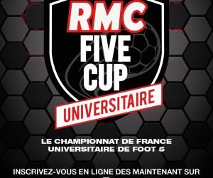 RMC FIVE CUP : le premier championnat universitaire de foot à 5