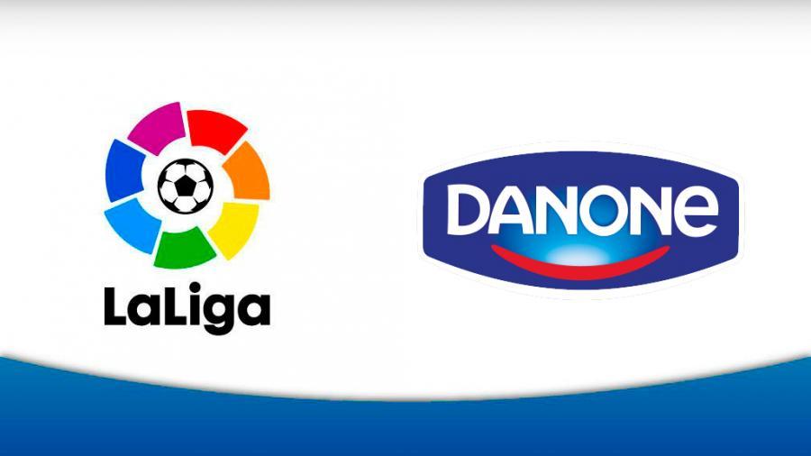la liga danone sponsor