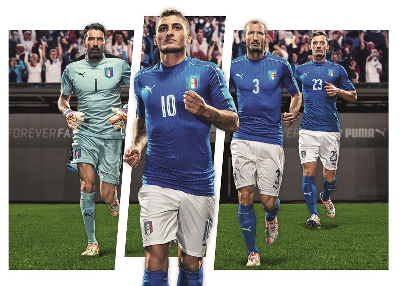 nouveau maillot domicile Italie EURO 2016 PUMA