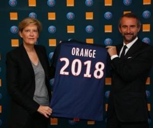 Orange prolonge son contrat sponsoring avec le PSG jusqu'en 2018
