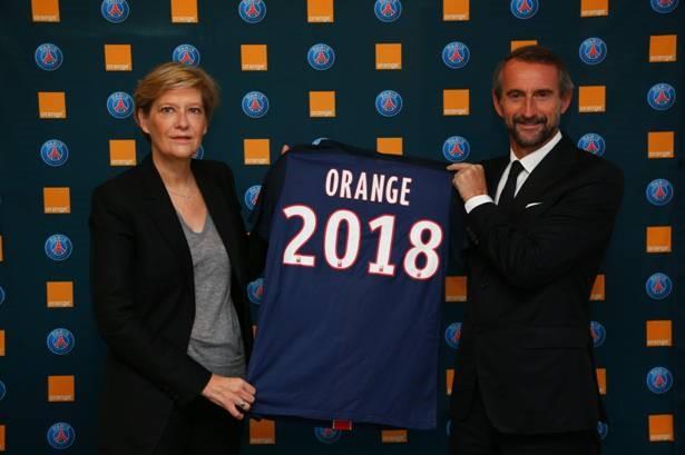 orange sponsoring PSG
