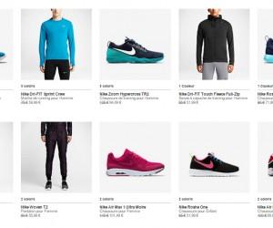 BON PLAN : -30% sur 1 400 produits Nike sur la boutique en ligne jusqu'au 27 novembre 2015