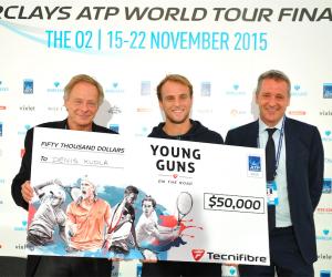 L'Américain Denis Kudla remporte la première édition du «Young Guns Contest» et décroche une bourse de 50 000 $