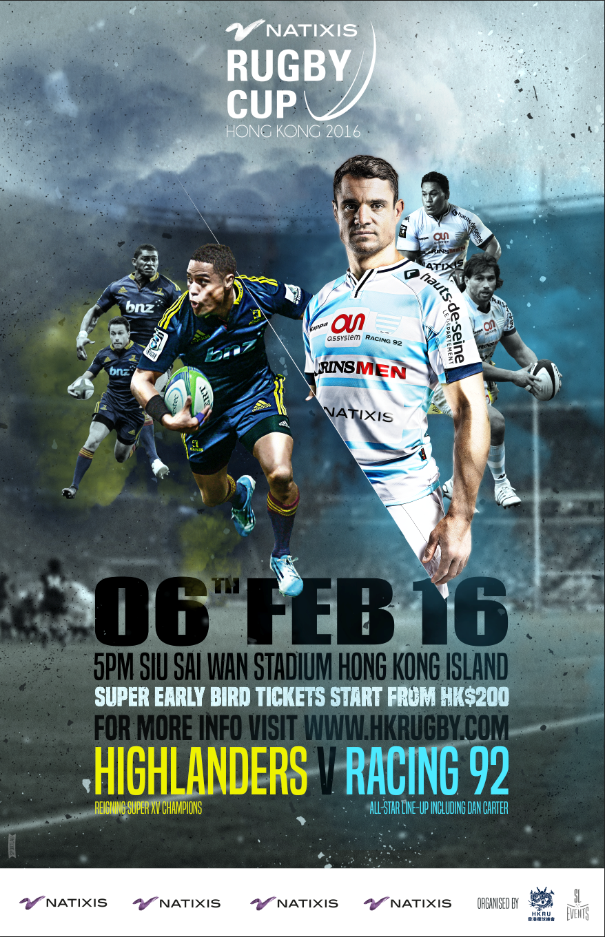 « Natixis Cup » rugby 2016 hong kong