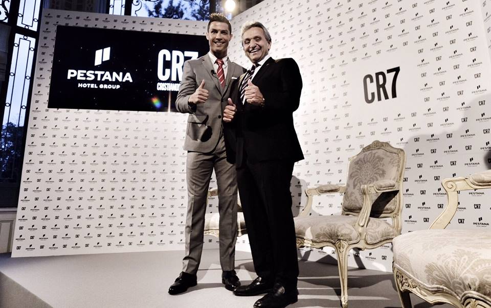 Cristiano Ronaldo hotels Pestana hotel group CR7