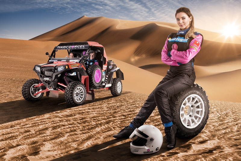 Dakar 2016 Marc Dorcel Anna Polina buzz