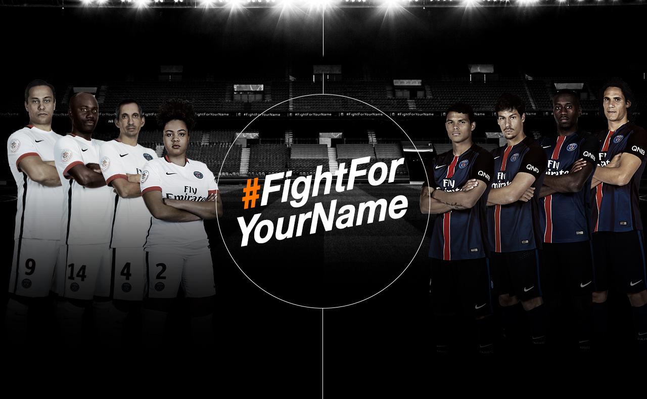 Fight For Your Name Orange PSG Marcel agency
