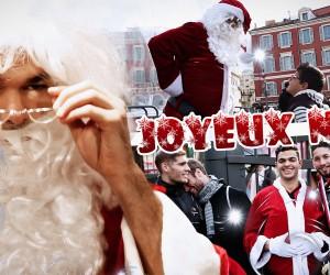 Hatem Ben Arfa déguisé en Père Noël dans une caméra cachée de l'OGC Nice