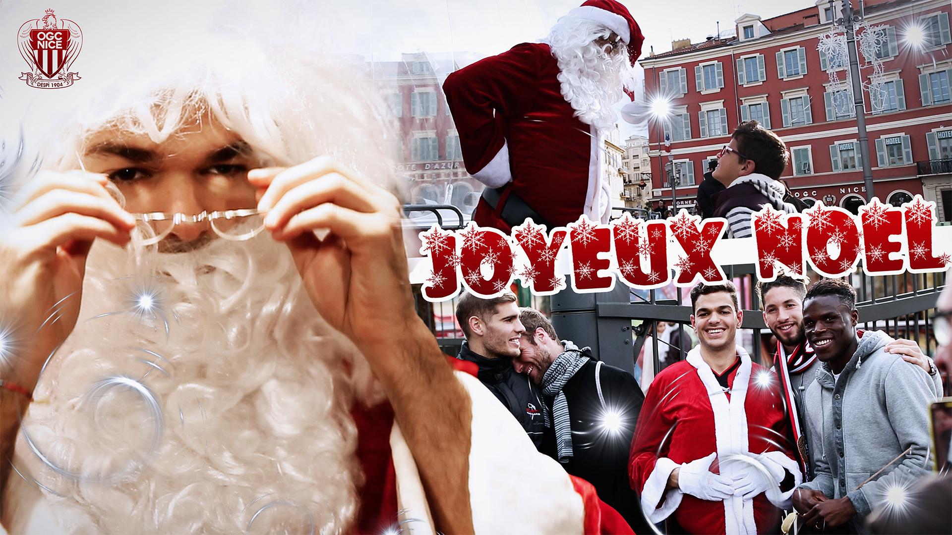 Hatem Ben Arfa Père Noël OGC Nice