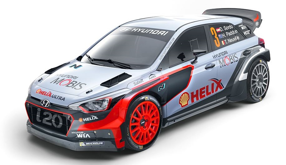 Hyundai Motorsport 'i20 Nouvelle Génération WRC 2016