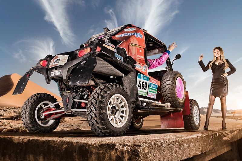 Marc Dorcel Dakar 2016 Anna Polina Hugo payen