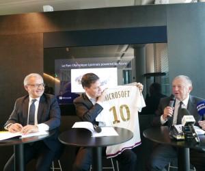 Microsoft signe un contrat de partenariat avec l'Olympique Lyonnais et son stade connecté 2.0