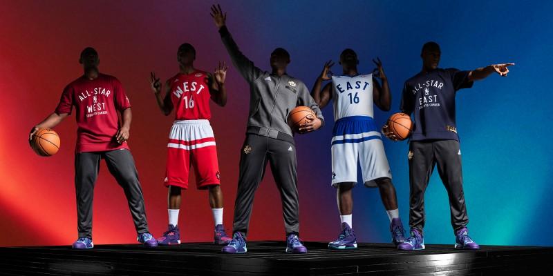 adidas-NBA All-Star Game 2016