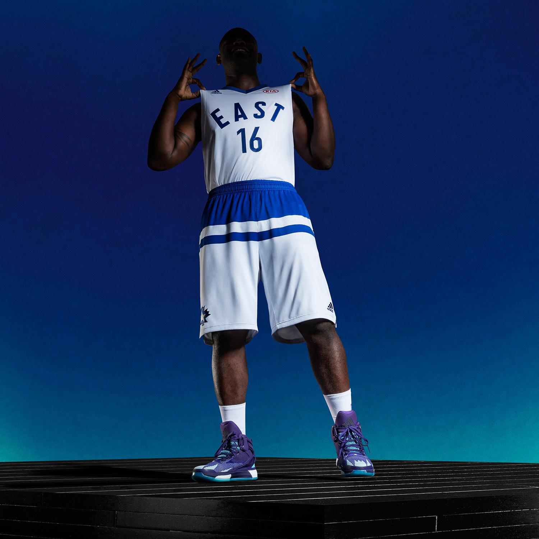 adidas-NBA All-Star Game East Uniform 2016 toronto