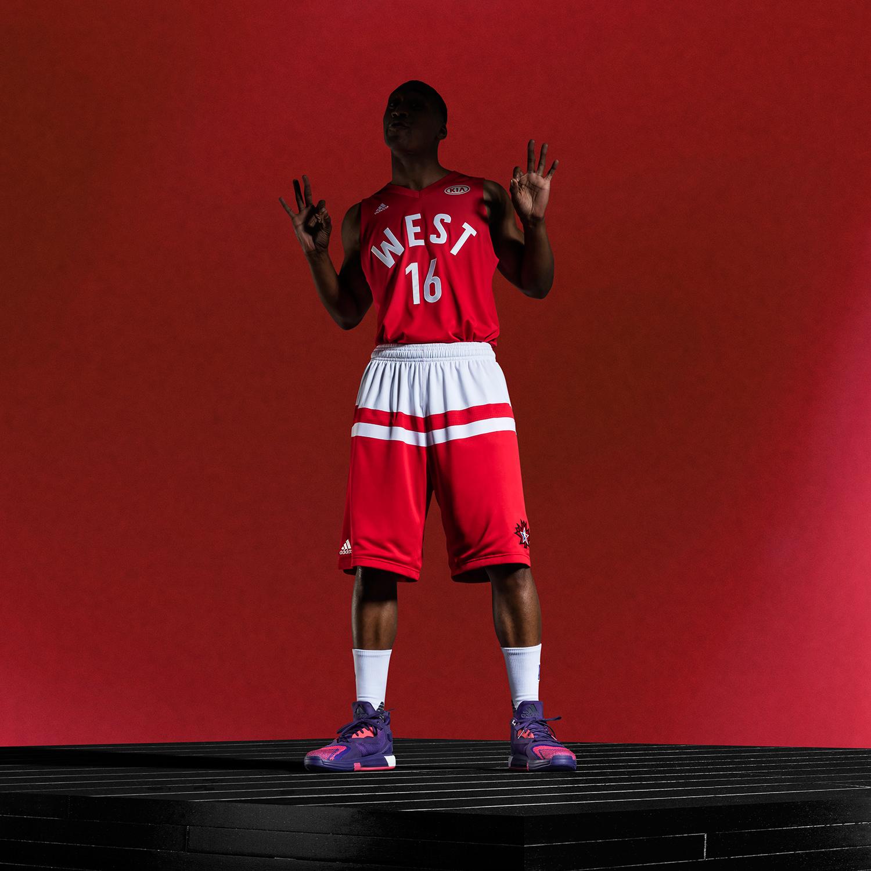 adidas-NBA All-Star Game West Uniform 2016