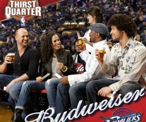 Anheuser-Busch (Budweiser, Bud Light…) prolonge son partenariat avec la NBA