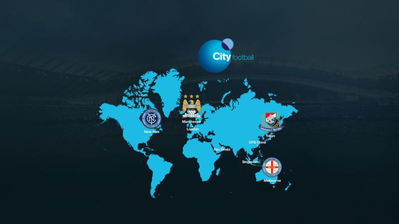 city football group china manchester